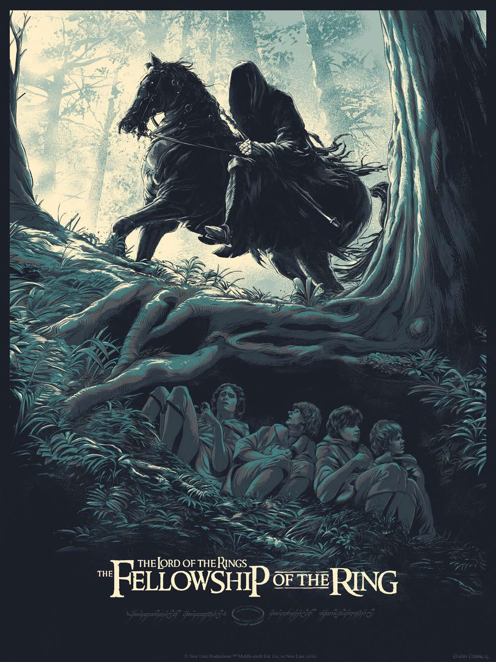Etc에 있는 Bemybest님의 핀 영화 포스터 반지의 제왕 파스텔 그림