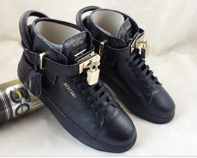 buscemi replica AAA+ leather shoes men