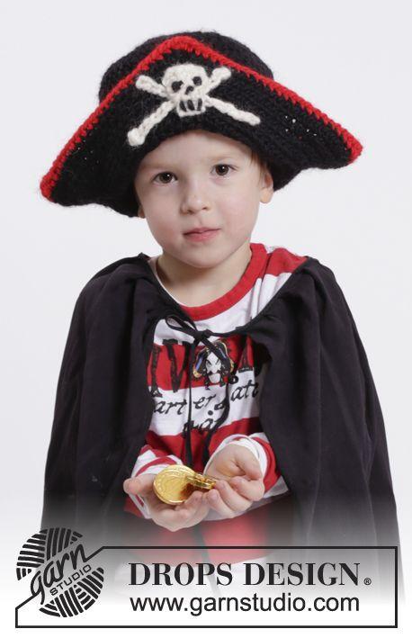 Free Pattern | Stick och virk | Pinterest | Sombreros de pirata, 10 ...