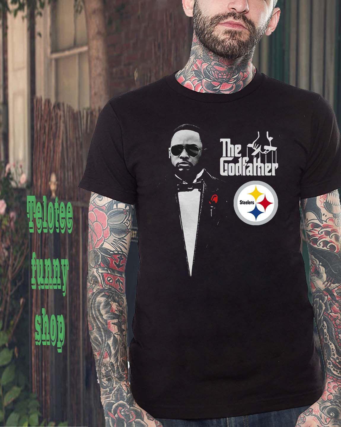 2316249da09 Mike Tomlin The Godfather Pittsburgh Steelers shirt