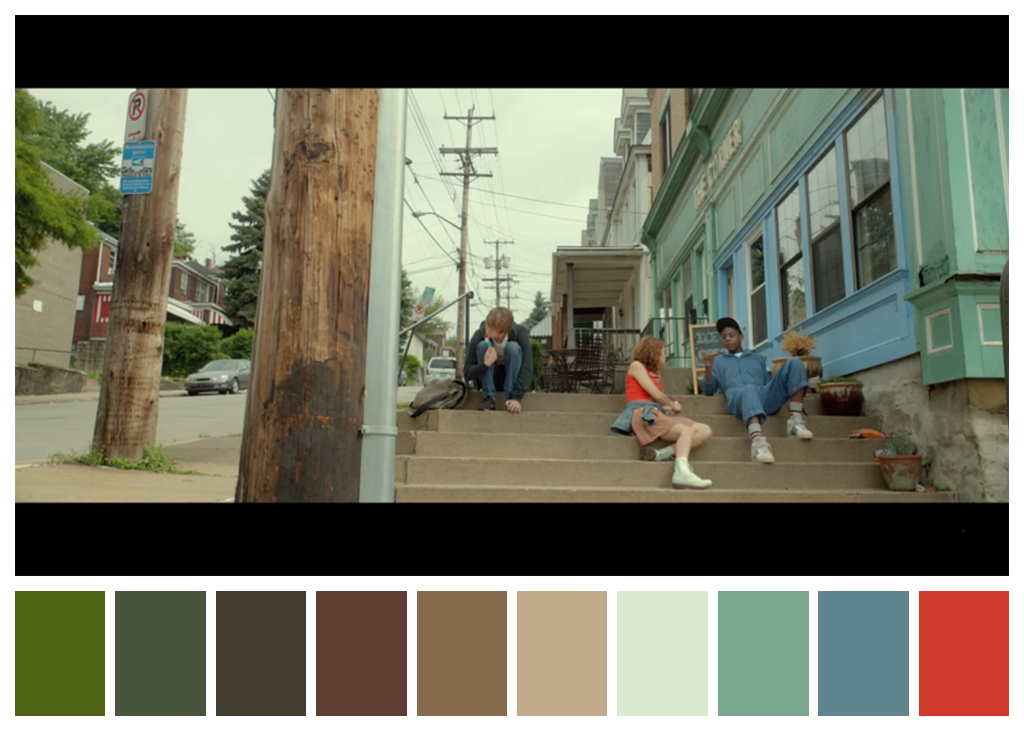 Best Cinema Palettes Images On Pinterest Colors Movies And - These colour palettes inspired by famous movie scenes are beautiful
