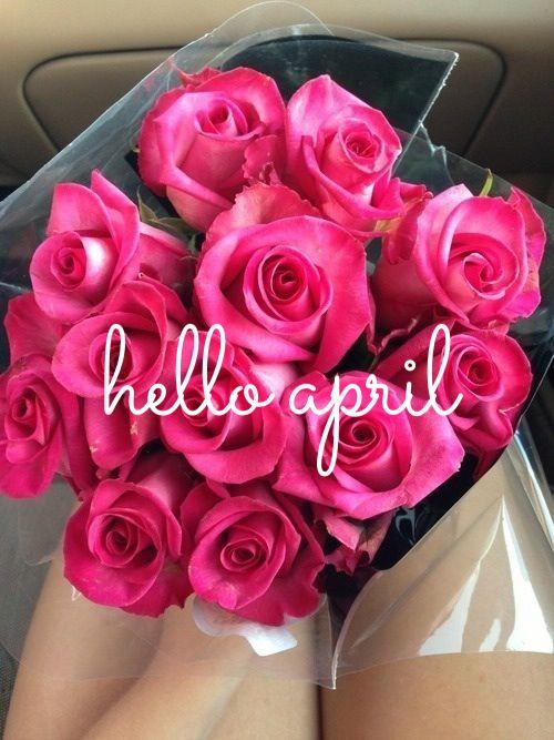 Bildergebnis für April with beautiful flowers
