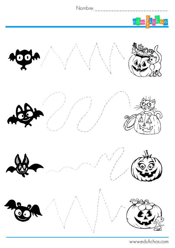 Cuaderno de actividades de Halloween para niños en PDF. Descarga ...