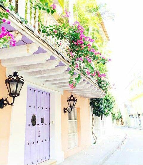 Calles de Cartagena de Indias 😍