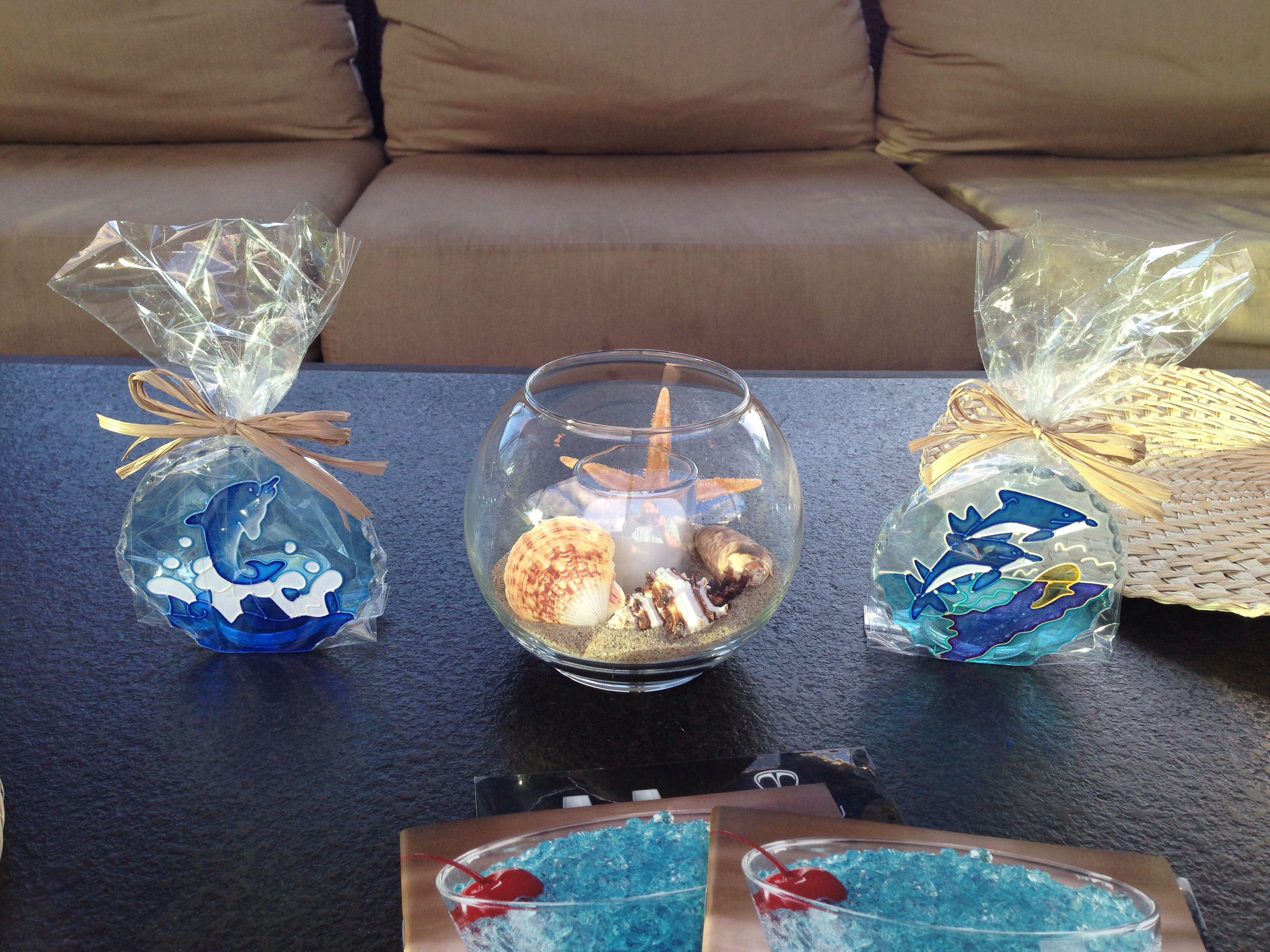 Baby Boy Beach Theme Shower Decorations