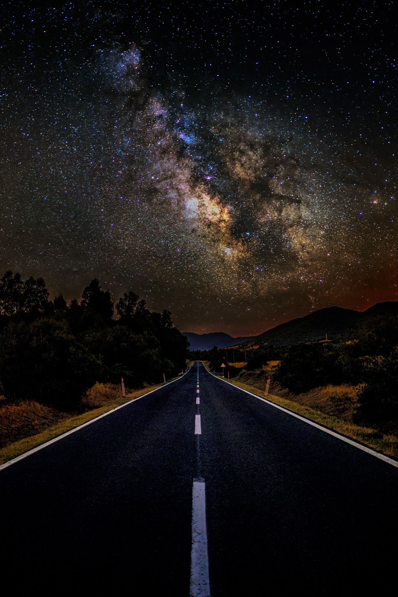 Milky road astrophotography by luca libralato on - Space wallpaper road ...