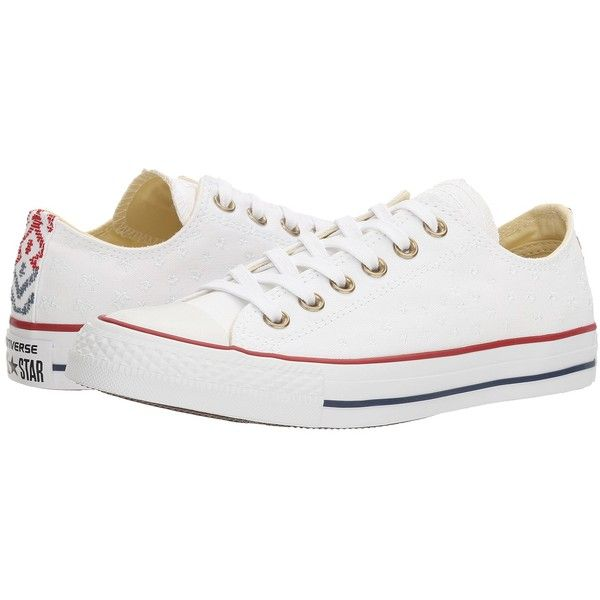 958be9e1e765 Converse Chuck Taylor All Star Festival Embroidered Ox... ( 65) ❤ liked on  Polyvore featuring shoes