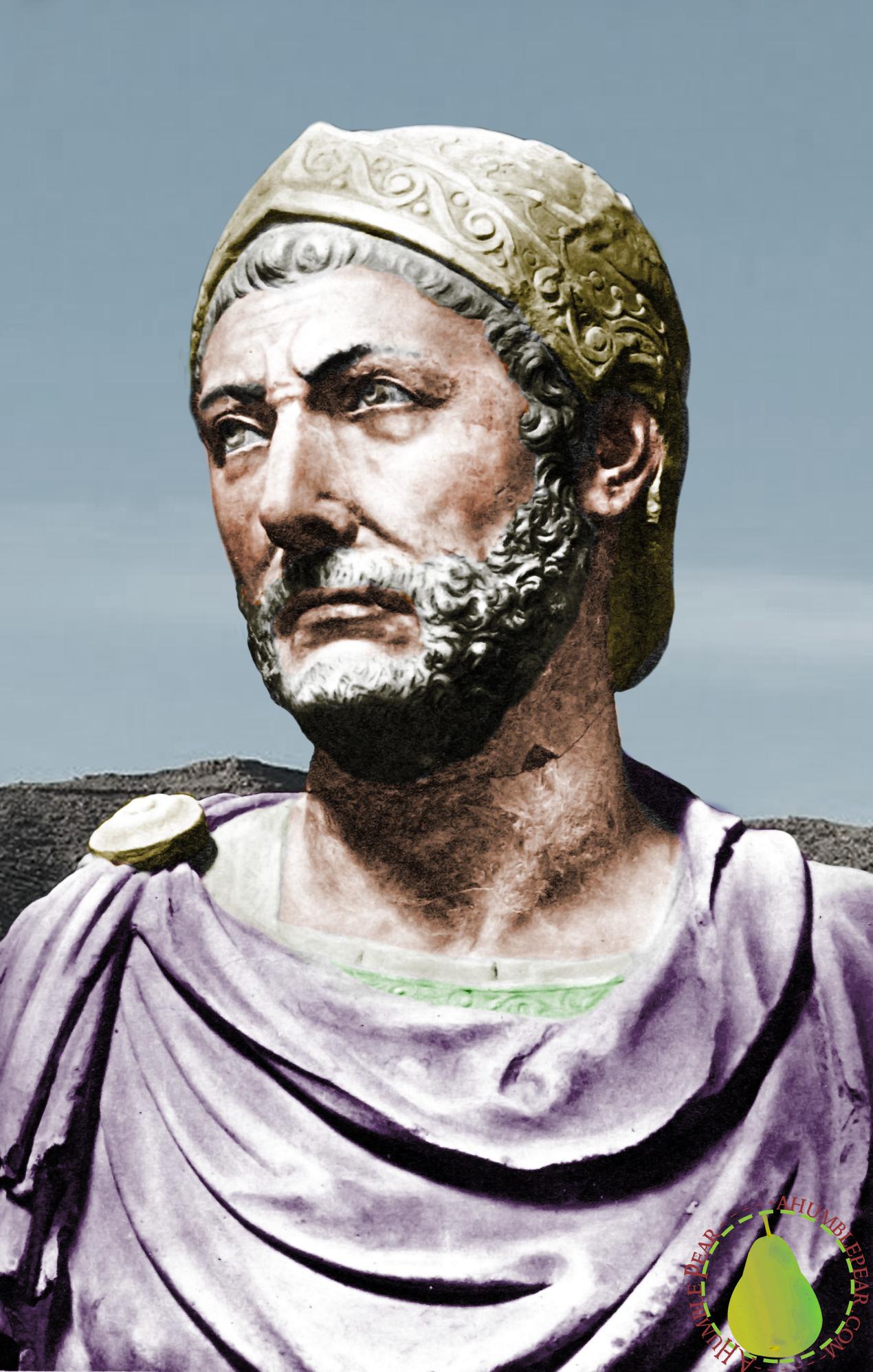 Hannibal Barca on Marble 247-182 BC | Hannibal barca, Carthage, Ancient  carthage