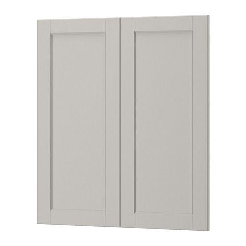 Best Ikea Lerhyttan 2 P Door Corner Base Cabinet Set 400 x 300