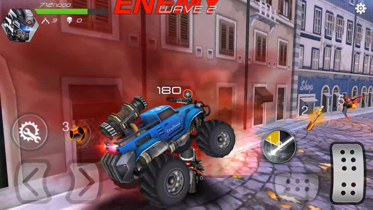 Overload 3D MOBA Car Shooting OFFLINE + Multiplayer