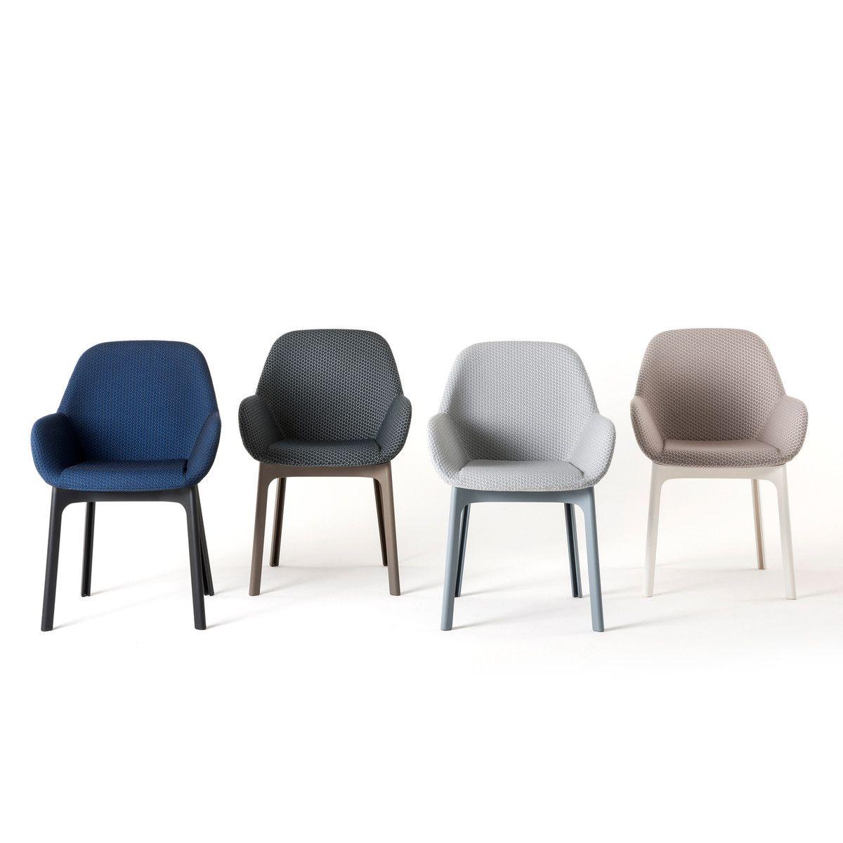 Sessel Clap / Mit Stoffbezug, Graphitschwarz / Stuhlbeine Taubengrau Von  Kartell Finden Sie Bei Made In Design, Ihrem Online Shop Für Designermöbel,  ...