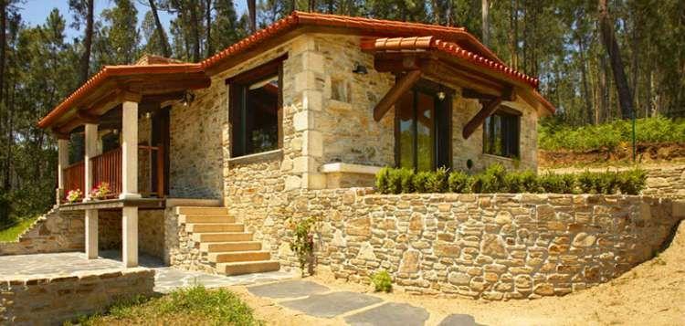 40++ Casas de piedra rusticas ideas