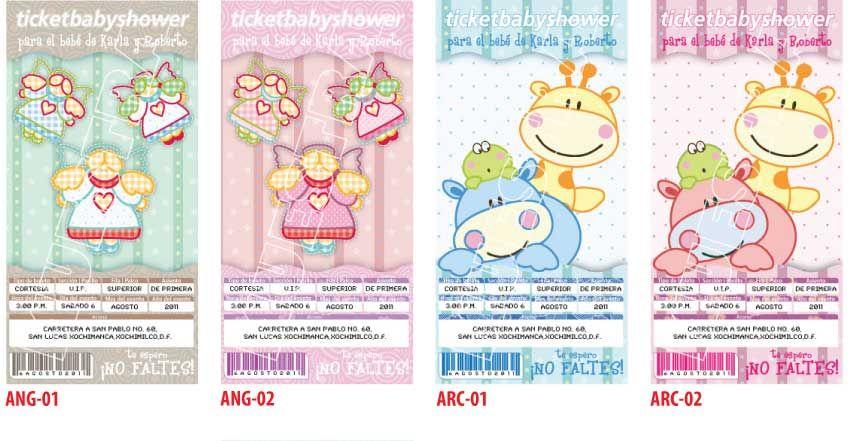 Tarjetas De Baby Shower Para Editar Invitaciones De Ba