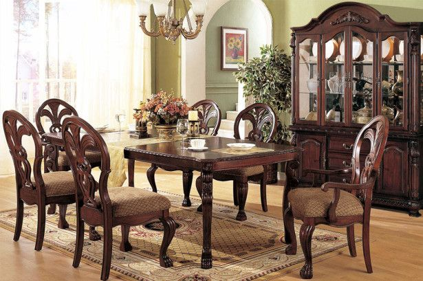 Dining Room, Western Modern Formal Dining Room Sets With Pink