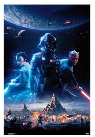 Trends International Star Wars Battlefront Ii Key Art Unframed Wall Poster Print 34 X 22 Star Wars Games Star Wars Battlefront New Star Wars