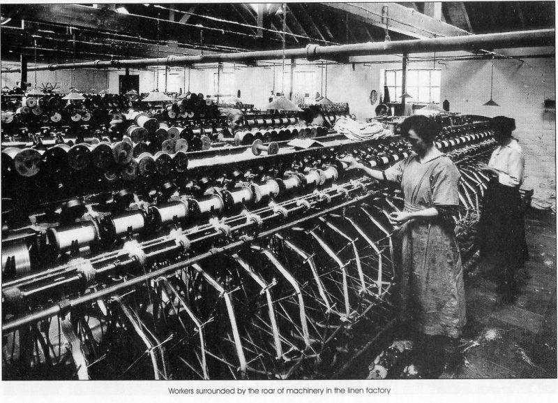 damask linen factories 1850 belfast - Google Search   Belfast Girls