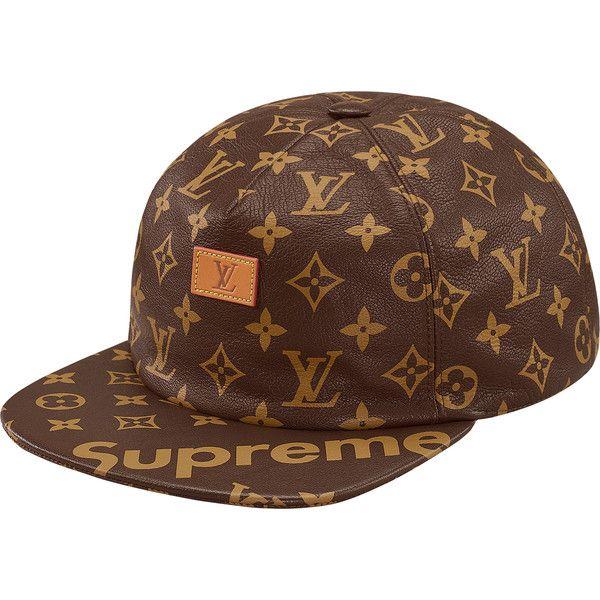 4c6a5e86186 Supreme Louis Vuitton Supreme Jacquard Denim Trucker Jacket ❤ liked on  Polyvore featuring trucker jacket and louis vuitton