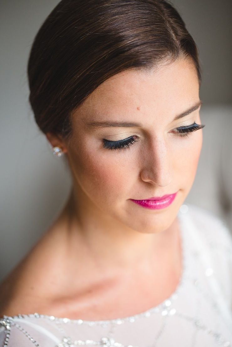 Stunning bridal make up for autumn wedding | fabmood.com