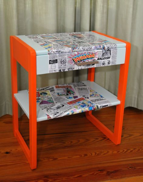Upcycled furniture in Cork by http://theupcycler.ie/upcycled #handpainted #upcycled #furniture #Cork