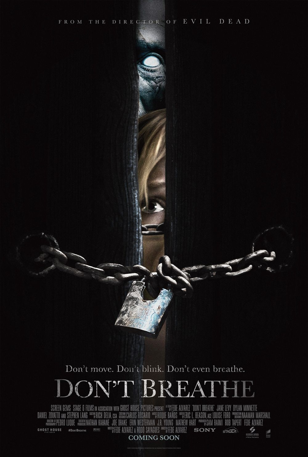 jual poster film Don't Breathe. Don't Breathe Movie poster ...