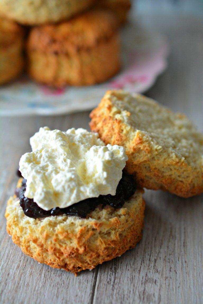 Granny S Buttermilk Scones In 2020 Scones Baking Food Processor Recipes