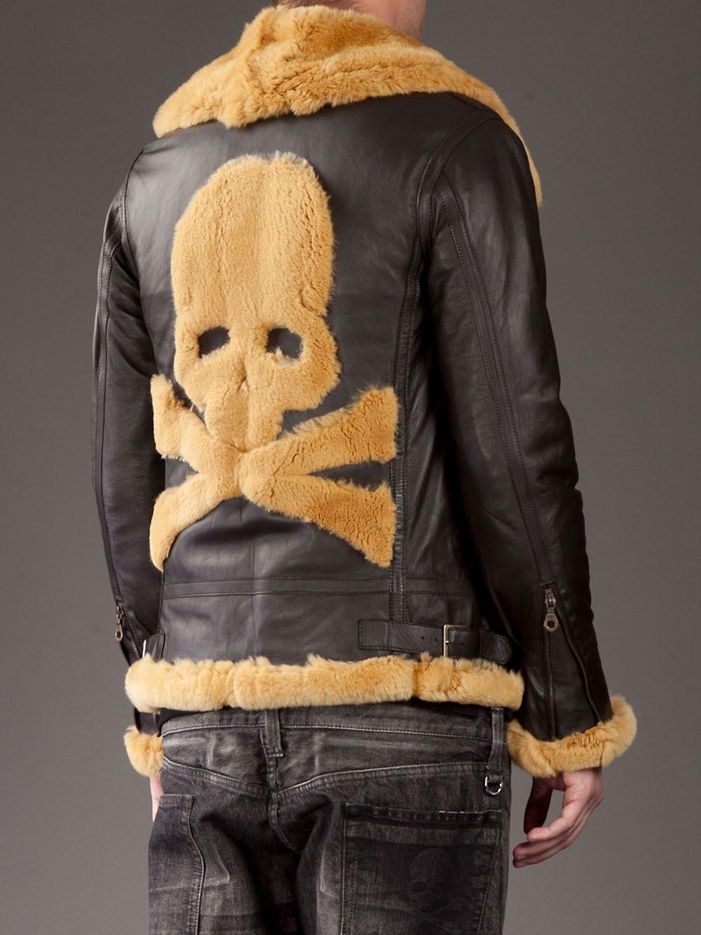 f977c5115a Mastermind Japan Rabbit Fur Flight Jacket Source   farfetch.com - a new way  to shop for fashion