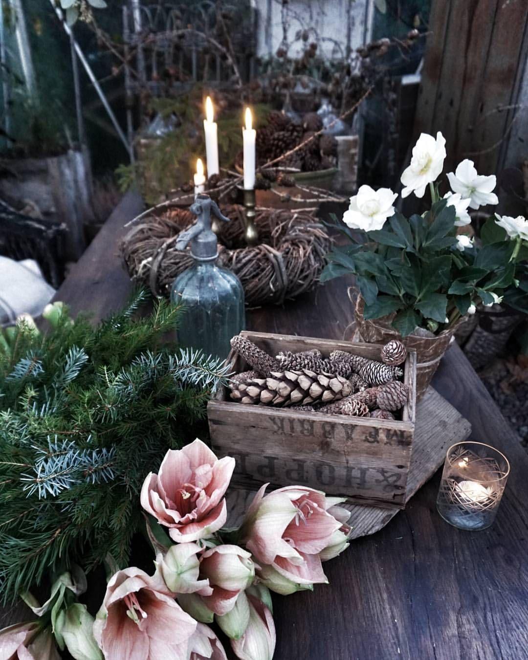 Äntligen Fredag. •❥❥❥❦❦❥❧•~ Hoppas att ni får en fin morgon. ~ #weihnachtsdekofensterbank