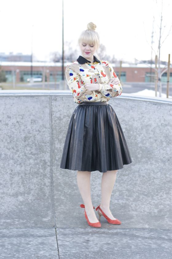 Funky Fresh | Secretary, Leather skirts and Ladies wear