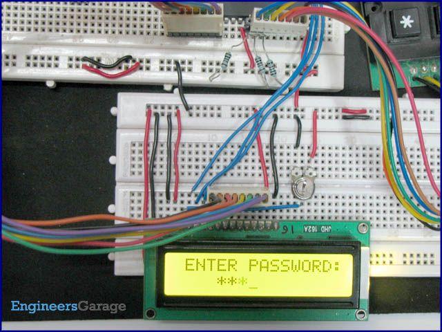 Electronic Keypad Lock Project using 8051 Microcontroller