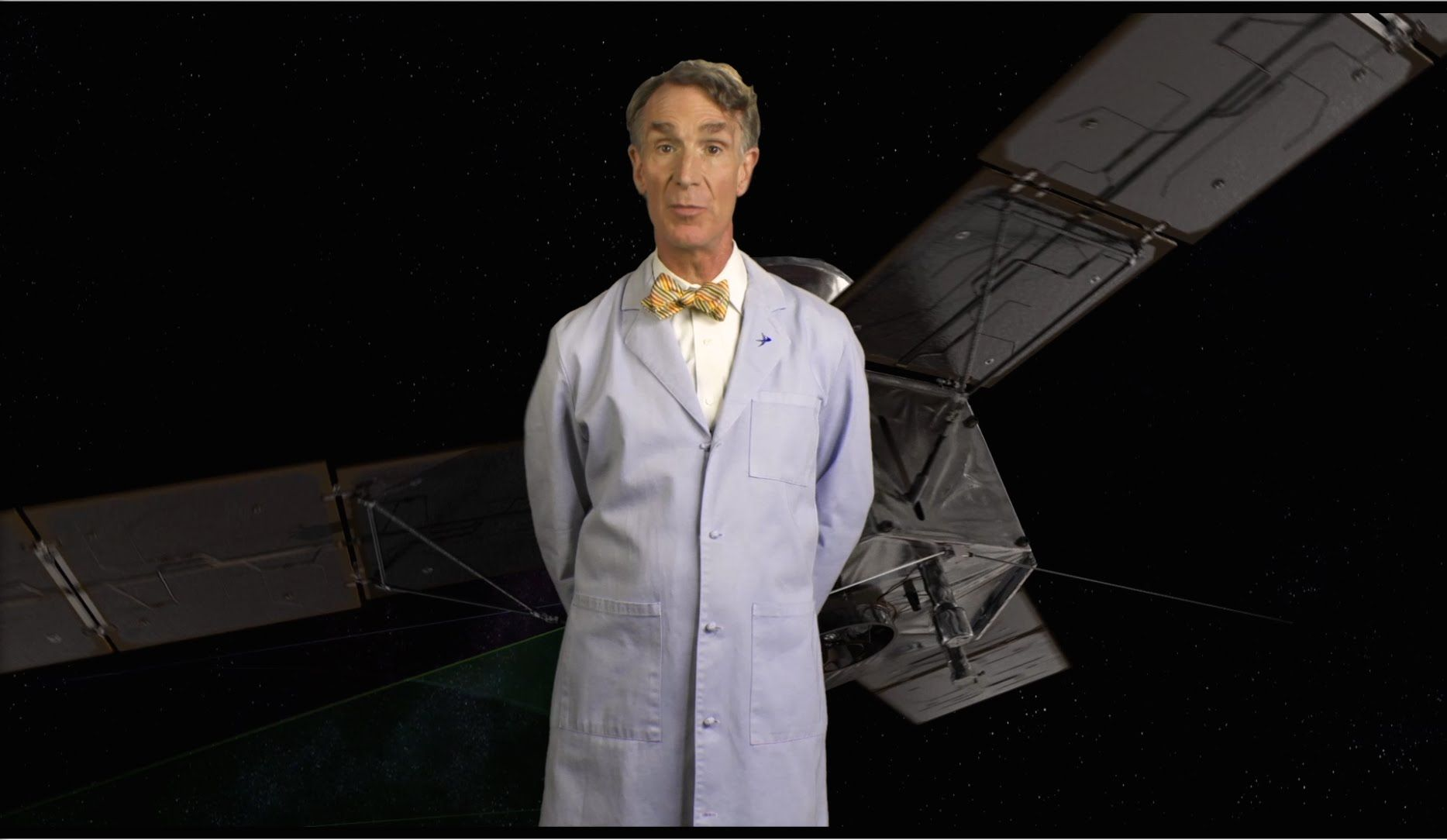 Bill Nye Unravels The Mysteries Of Solar Powered Space