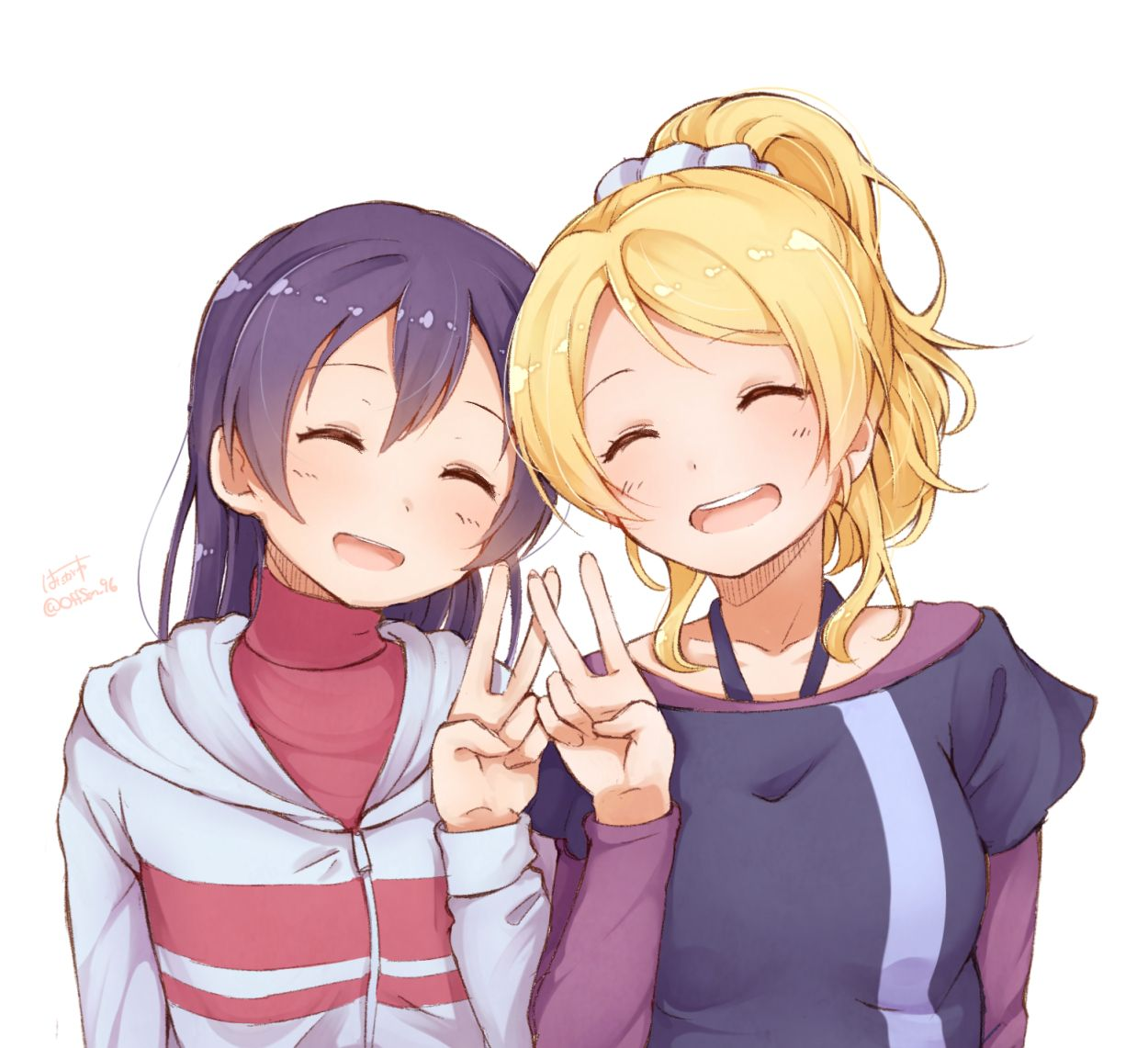 Sonoda Umi and Ayase Eli. Anime, Anime love, Anime images