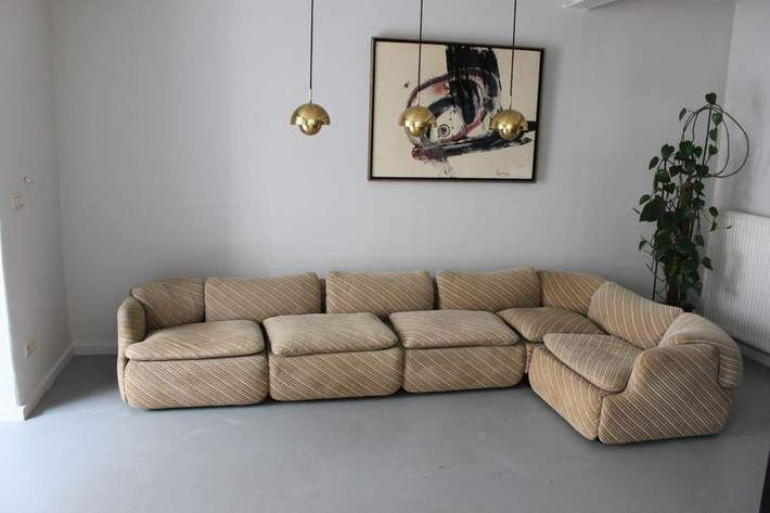 Confidential Sofa By Alberto Rosselli For Saporiti Ecksofas Mobel Sofa Kleines Sofa