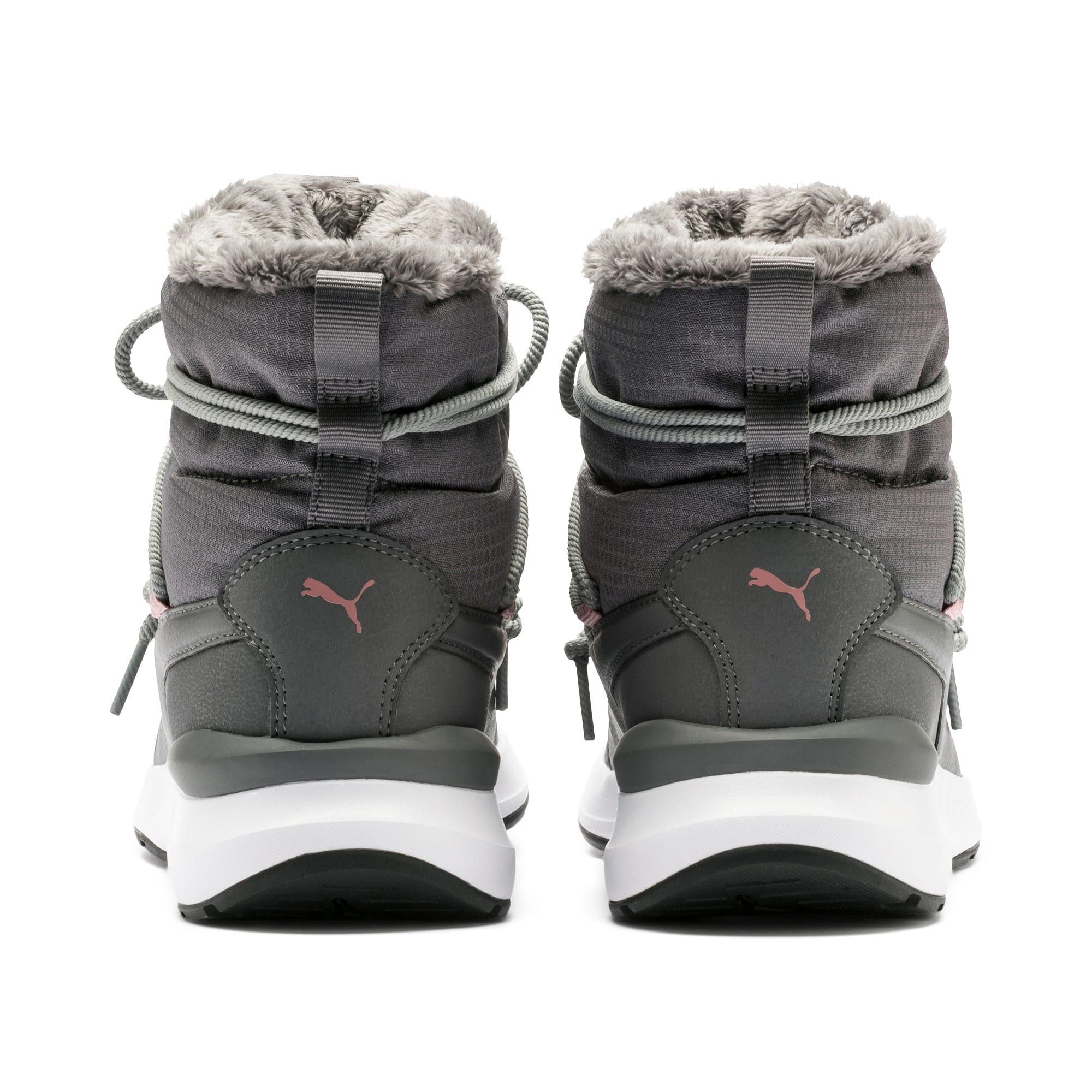 PUMA Adela Winter Boots in Steel GreyWhite size 6.5 | Boots
