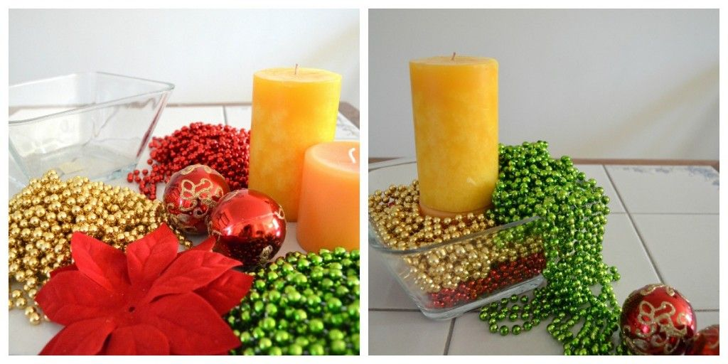 Decoraciones para navidad econ micas con adornos de perlas navide as ideas navidad - Decoraciones de navidad manualidades ...