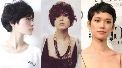 Images Of Short Hairstyles For Older Asian Women Asian Hair