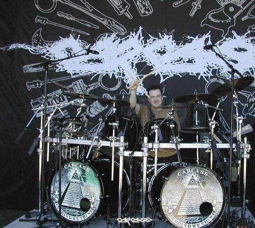 Ken Owen - original Carcass drummer