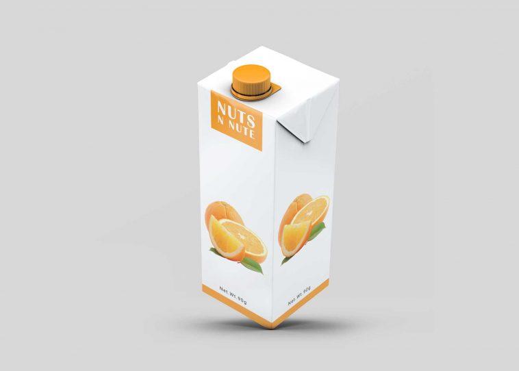 Free Juice Carton Tetra Pack Mockup Free Package Mockups Juice Carton Packaging Mockup Free Packaging Mockup
