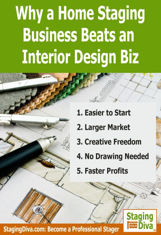 5 Reasons A Home Staging Business Is A Much Easier Path To Take Than Opening  An · Interior Design ...