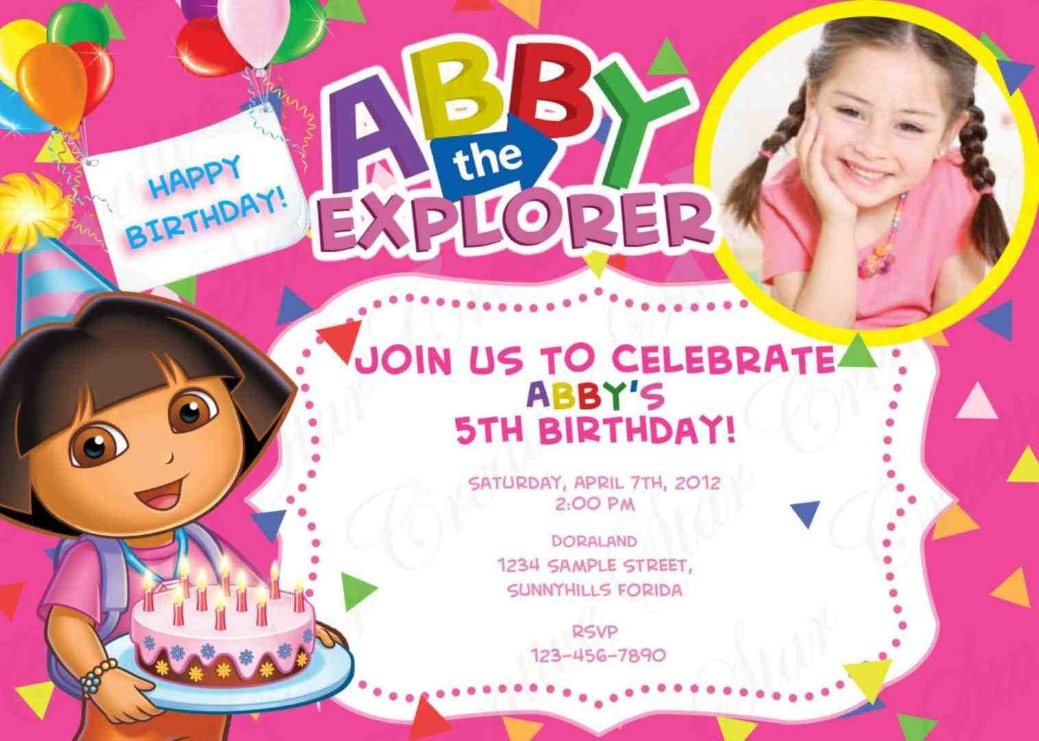 make your own birthday invitations to create a beautiful birthday ...
