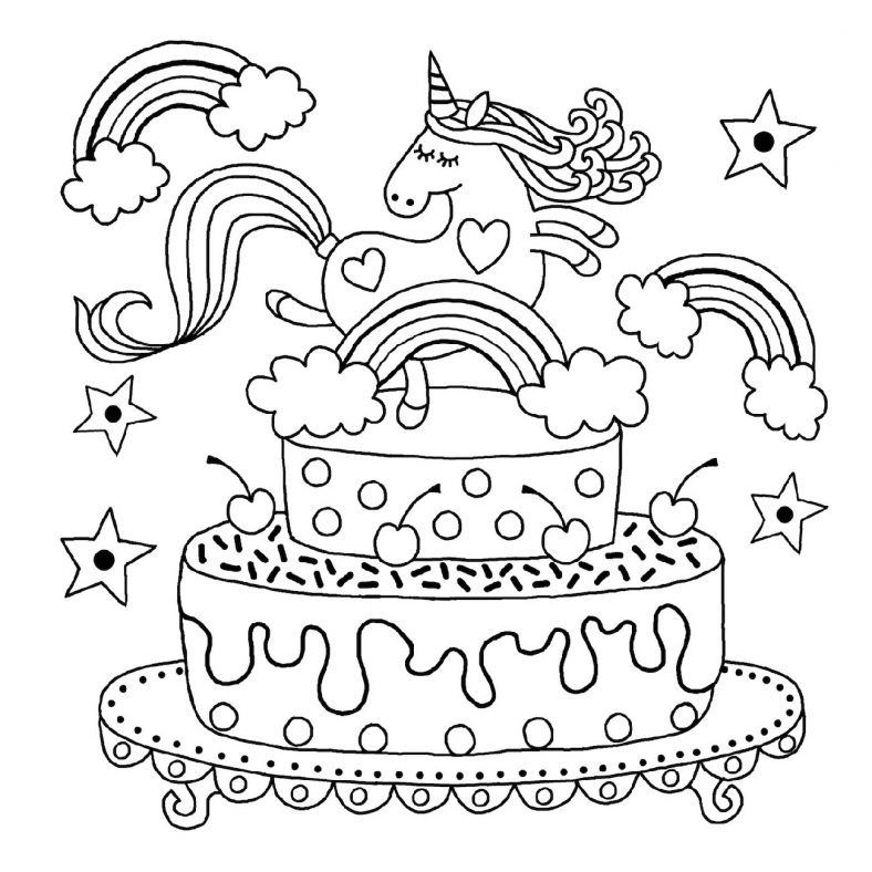 Pin on Happy Birthday Coloring