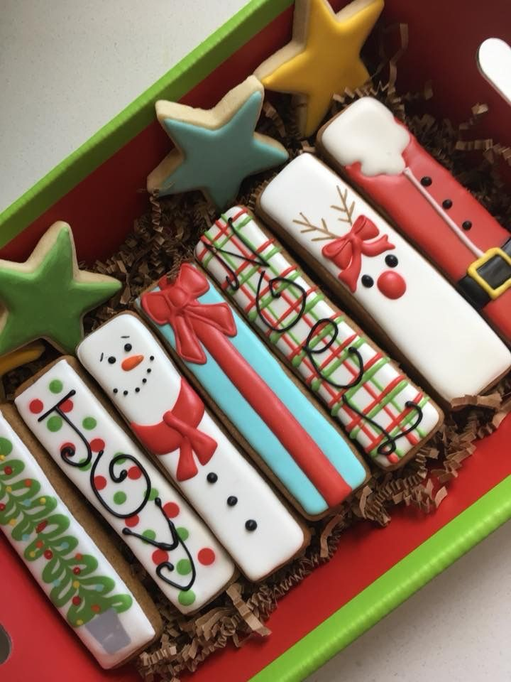 Decorated Christmas Cookies Pinterest