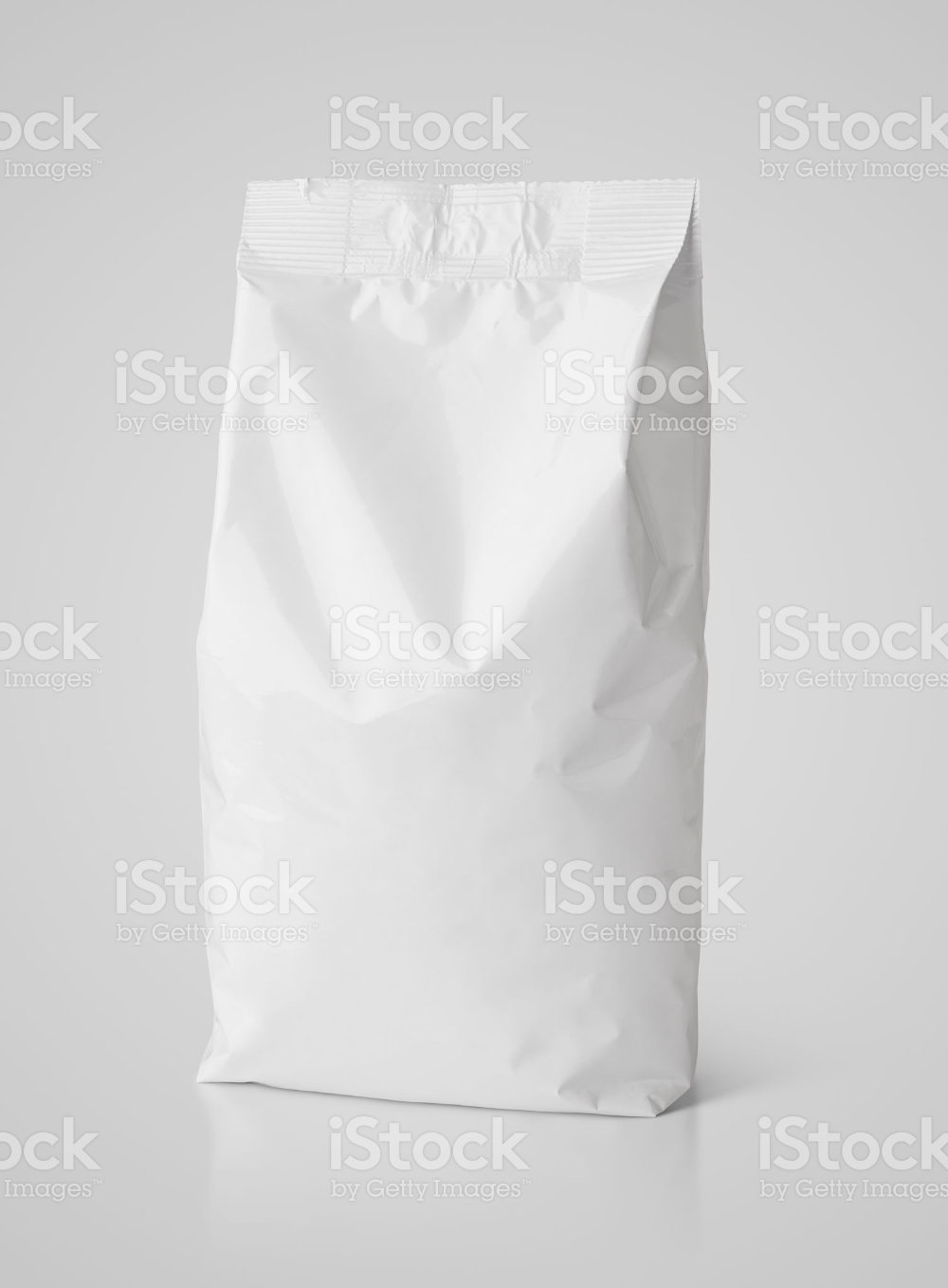 Blank Snack White Paper Bag Package On Gray With Clipping Path Bag Packaging Paper Bag Stock Images Free