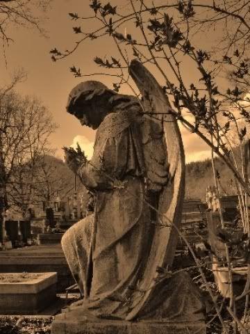 Cemetery Angel Monument