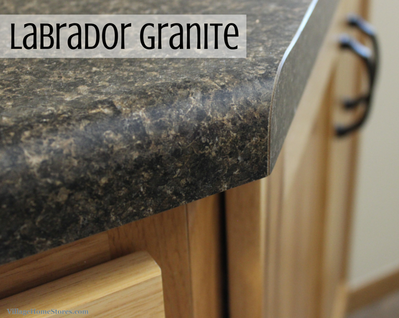 East Moline Remodel Hickory Steals The Show Granite