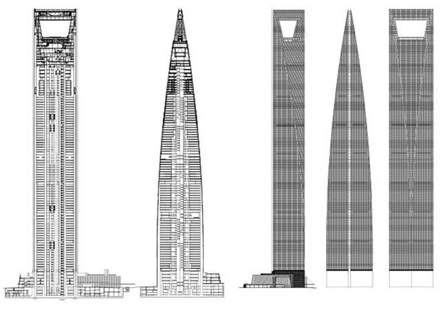 A Great Idea Drawn Out The Blueprints Of Our Shanghai World Financial Center Arquitectura