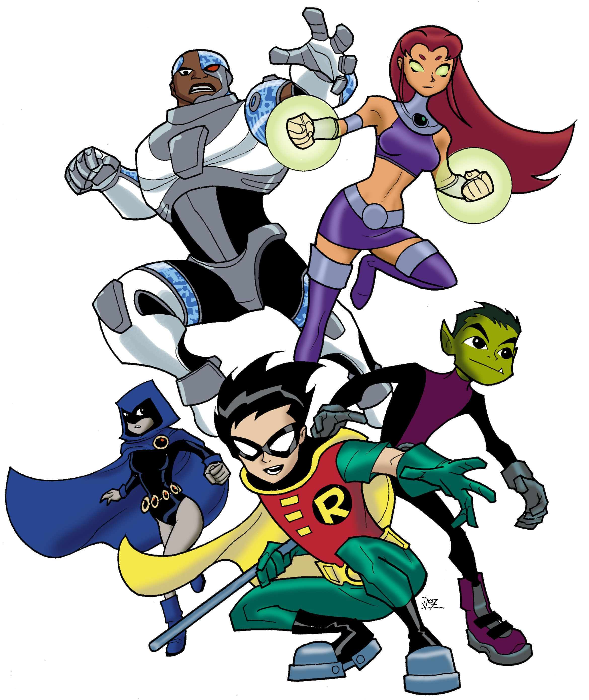 Teen titans cartoon pictures