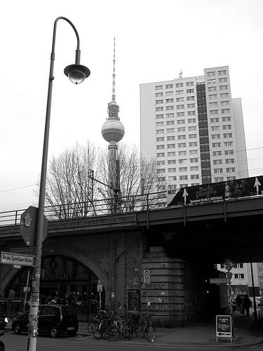 The Tv Tower Tower Cn Tower Berlin