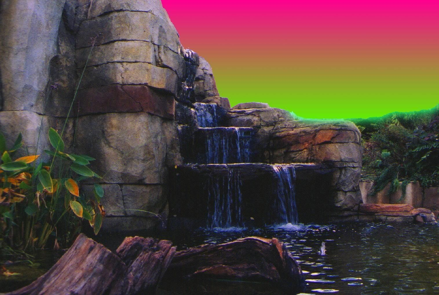Waterfall Nature Colors Sky Hd Wallpapers 1080p