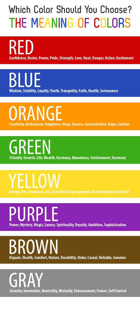 Color Meaning Art Pinterest Psychology Colour Psychology And