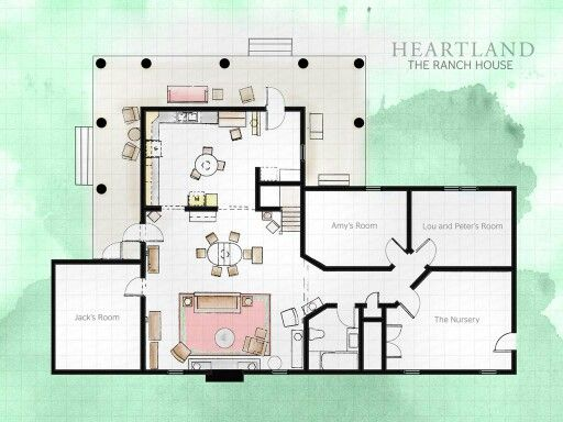 Heartland ranch house heartland pinterest heartland for Alberta house plans